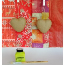 Two 3D Hearts Kit