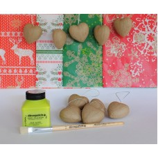 Christmas Hanging Hearts Kit