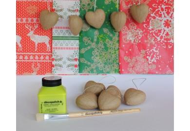 Christmas Hanging Hearts Kit