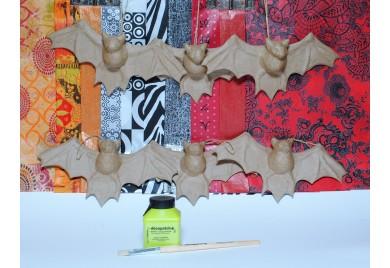 Bat Party Kit for 6 - Halloween Kit