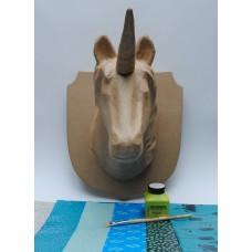 Unicorn Large Trophy Head