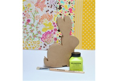 Easter Sitting Rabbit Box Kit