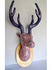 Home Decor Large Deer Head Trophy